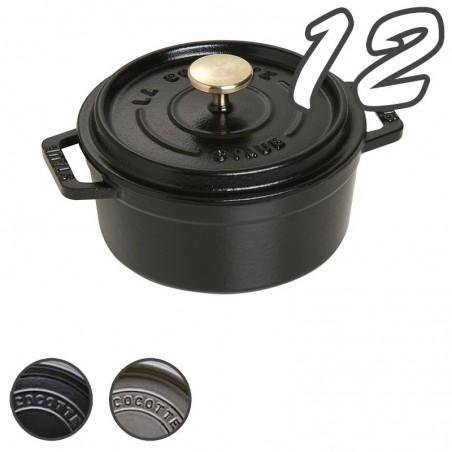 Cocotte cocotte tonda 12 cm