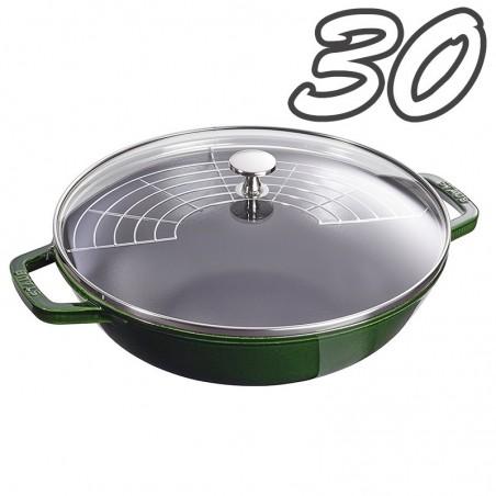 Staub Wok verde 30 cm