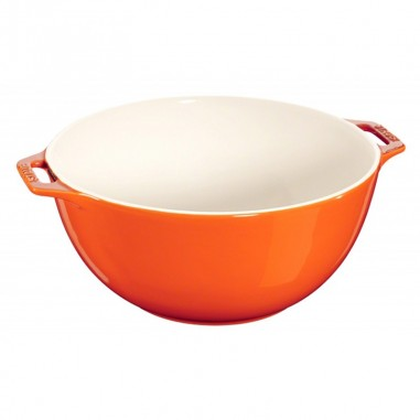 Serving Bowl 25 cm arancio