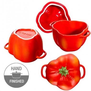 Peperone rosso ceramica