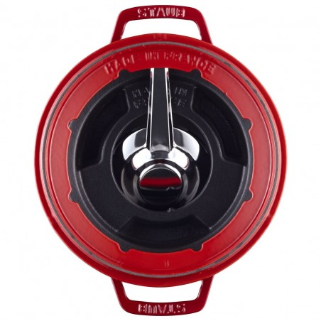 Fonduta rosso 20 cm - Staub